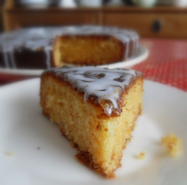 ... Kitchen: The Great British Bake Off and a Sticky Orange Marmalade Cake