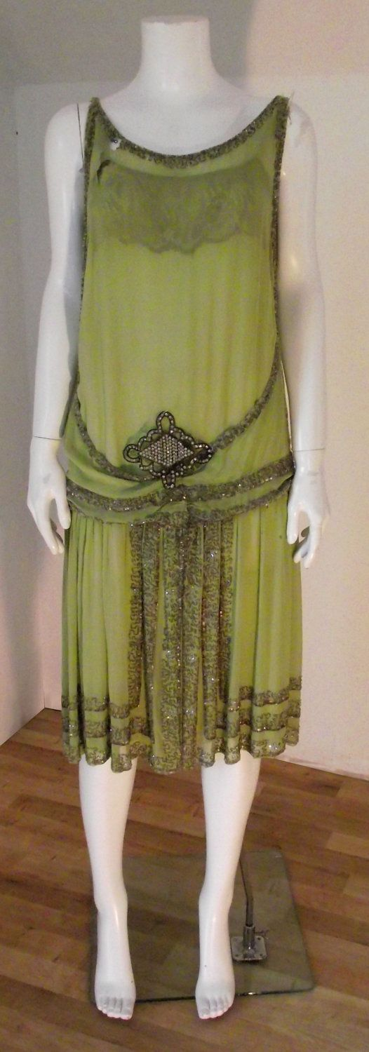 Great Gatsby Dresses | Vintage 1920's Great Gatsby style flapper dress ...