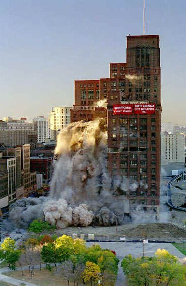 Jl hudson building detroit and the ruins pinterest for Jl builders