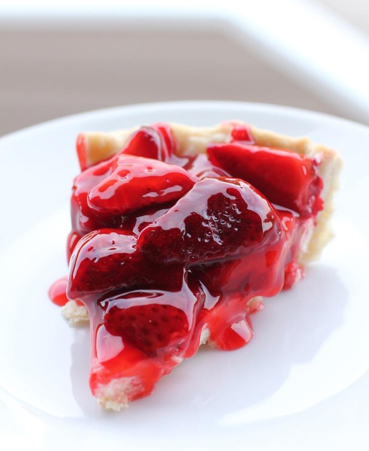 Strawberry Cream Cheese Pie | pies | Pinterest