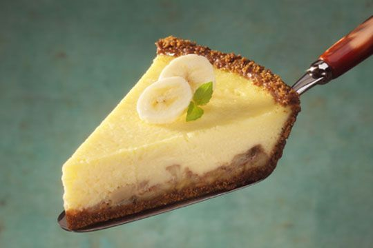 Bananas Foster Cheese Pie | Recipe