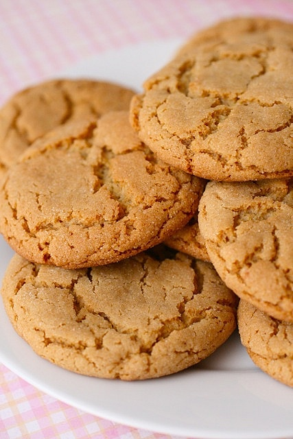 chewy peanut butter cookies - Made these last night and added ...
