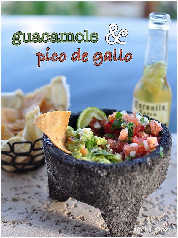 Afternoon tea, Mexico-style: Guacamole & Pico de Gallo