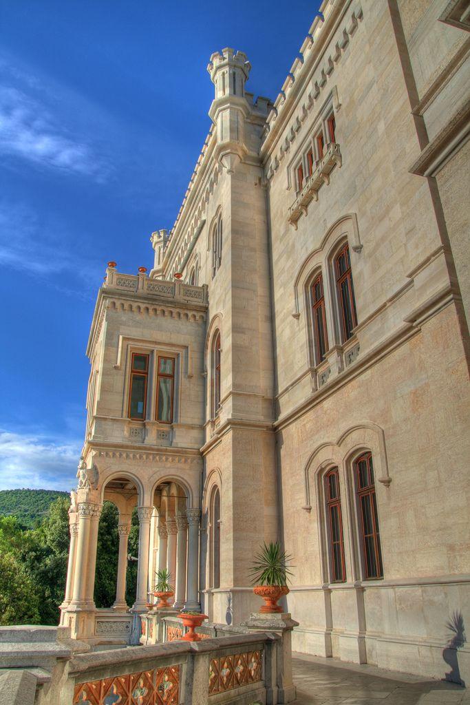 Miramare Castle, Gulf of Trieste, Friuli-Venezia Giulia, Italy