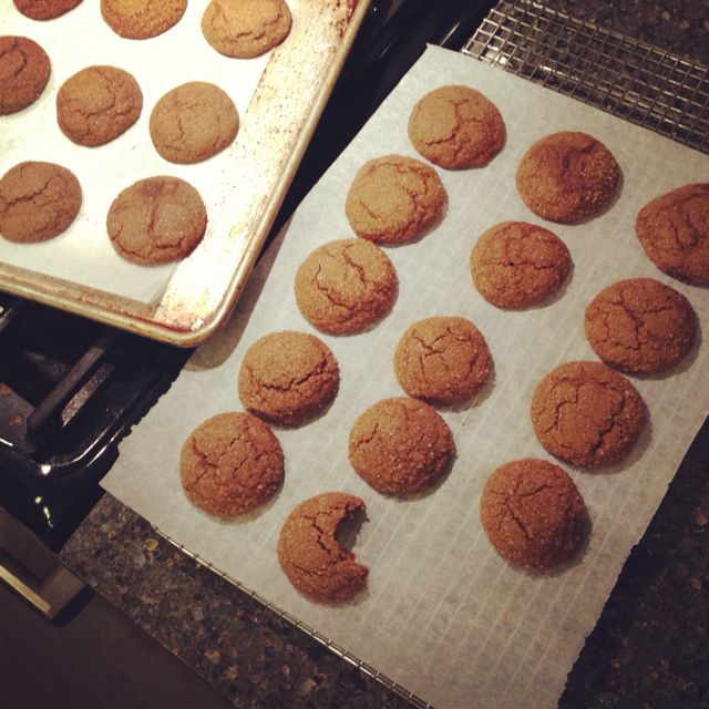 Gluten-free soft spicy ginger cookies I love ginger cookies!!!