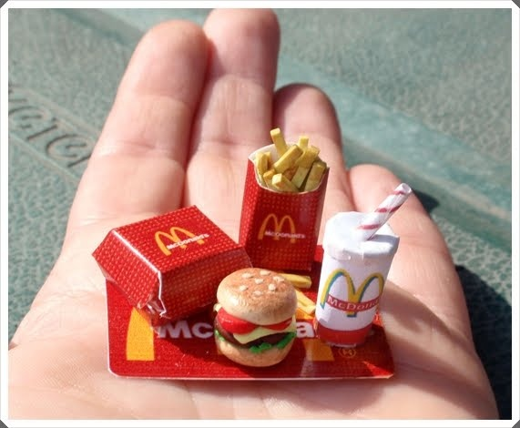 Miniaturas en mi mundo comidas miniature food pinterest for Como cocinar comida