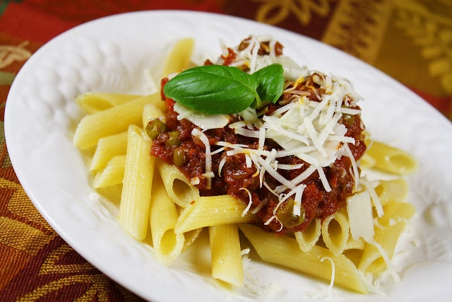 Pasta with Bolognese Sauce | Recipe