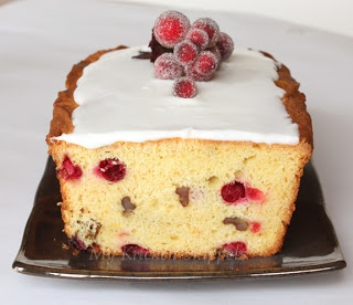Cranberry Orange Walnut Cake | Orange | Pinterest