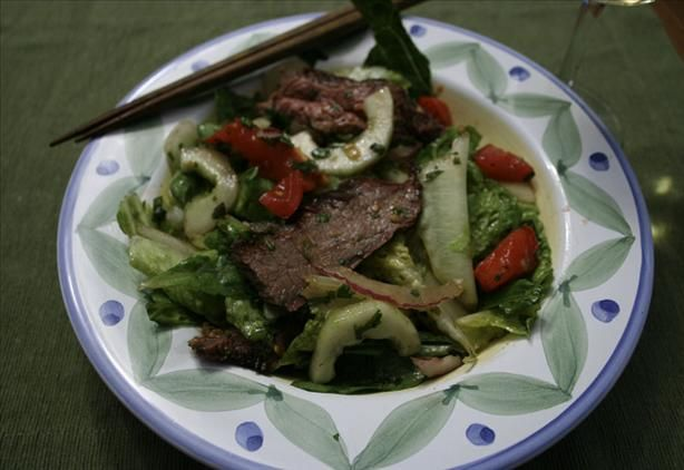 Thai Salad with Grilled Flank Steak | Recipe