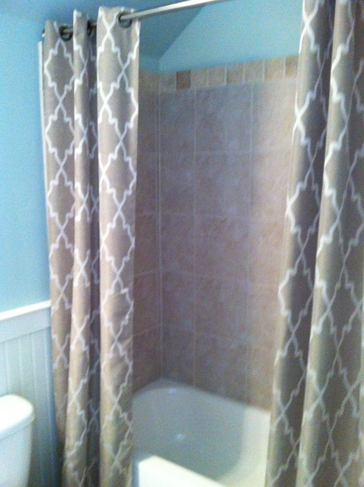 shower curtain | Ideas for new home | Pinterest