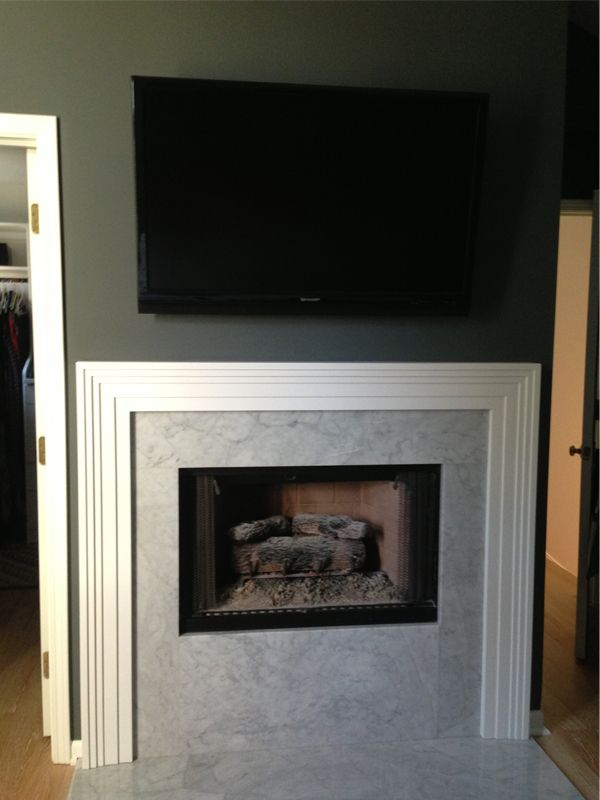 Before after master bedroom fireplace ffe pinterest Master bedroom with fireplace images