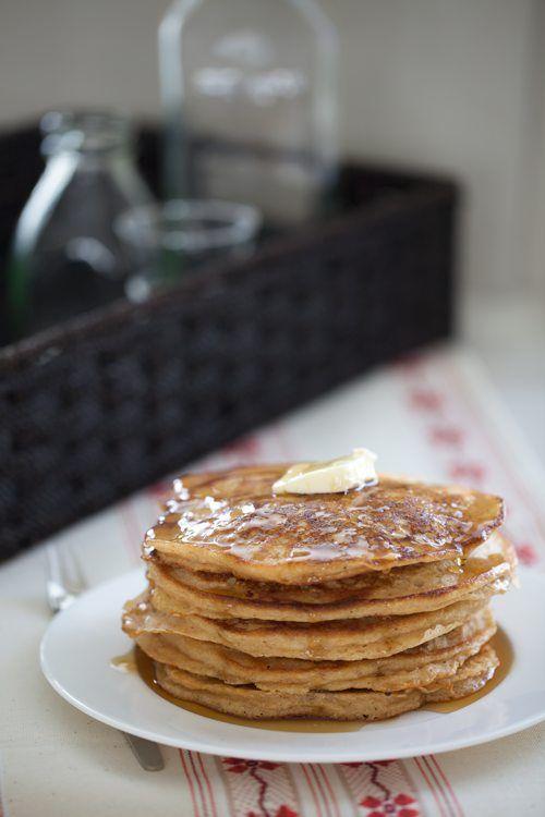 Whole Wheat Gingerbread Pancakes | Yum - Breakfast | Pinterest