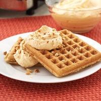 Spiced Waffles with Pumpkin Cream - Gabriel loved them - I added 3 ...