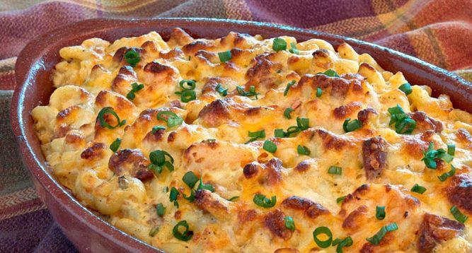 Chorizo Mac and Cheese | Food | Pinterest