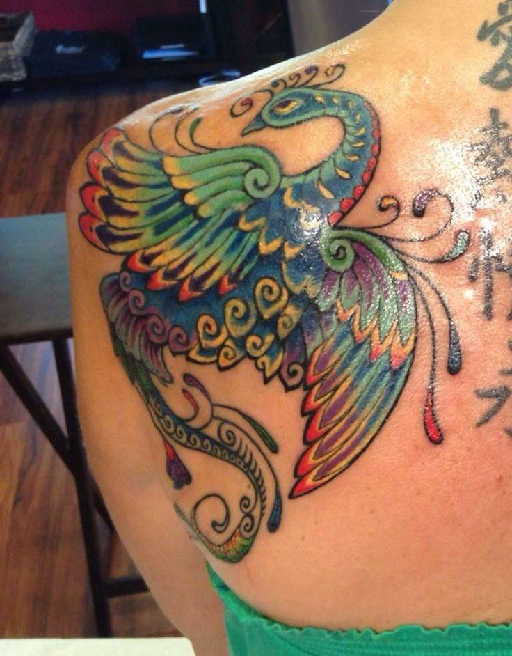 Peacock tattoo by zulu zulu austin tx inked pinterest for Austin texas tattoo