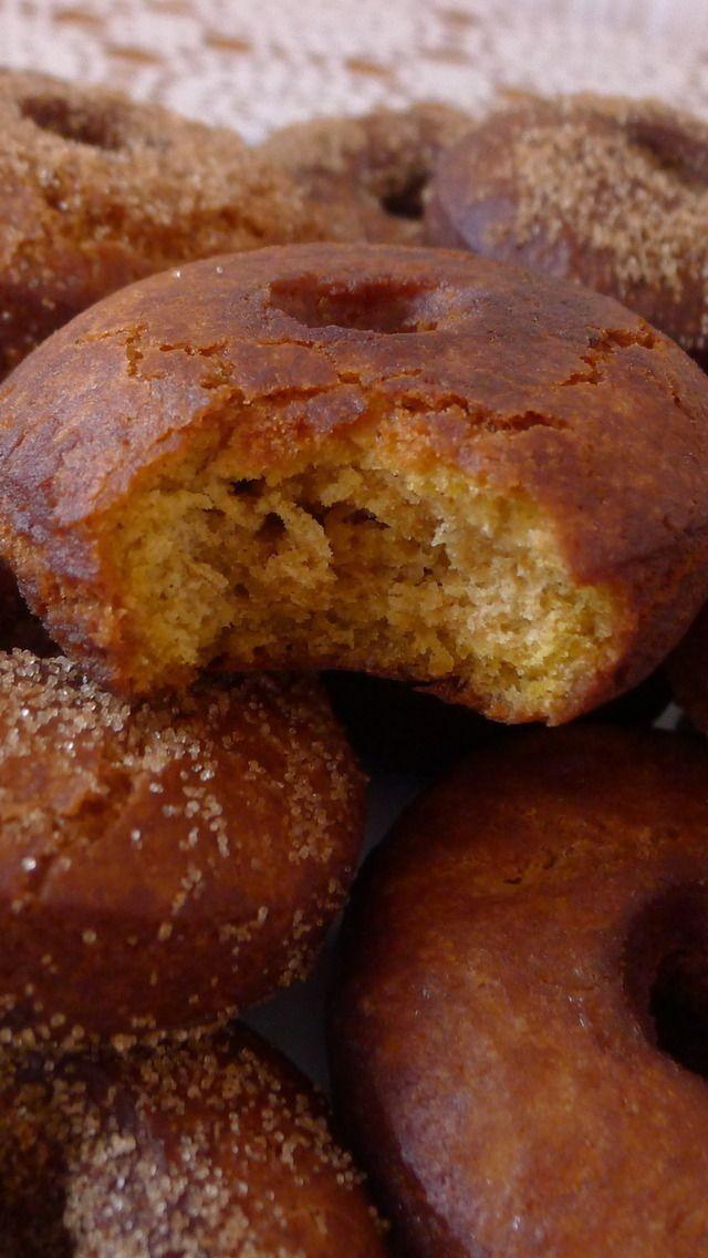 Pumpkin Spice Cider Doughnuts | Recipes | Pinterest