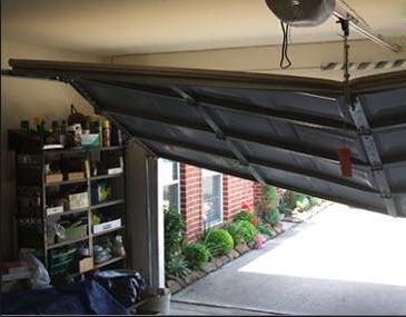 Garage Door Rollers Off Track: How to Repair m