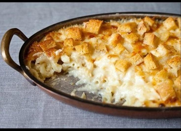 ... days! I skip the bread on top. Martha Stewart's Mac and cheese recipe