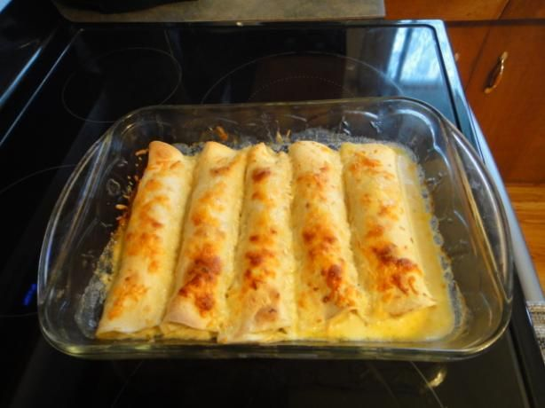 Chicken Enchiladas Suizas II Recipe