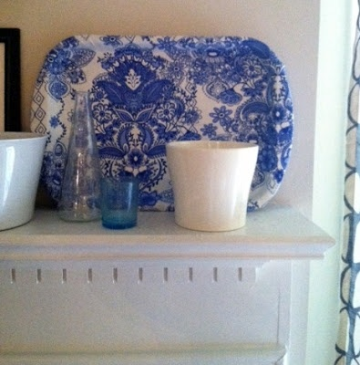hopes & dreams: Vintage Style Tray Made From Fabric and a Cookie Sheet