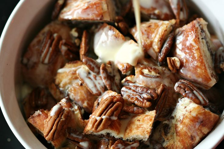 Nutella, Banana, And Croissant Pudding Recipes — Dishmaps