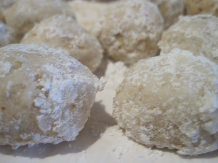Mexican Wedding Cookies | Cookie Recipes | Pinterest
