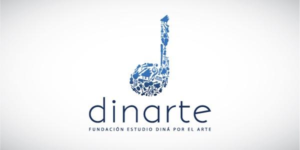Dinarte. A music studio. | LOGO | Pinterest