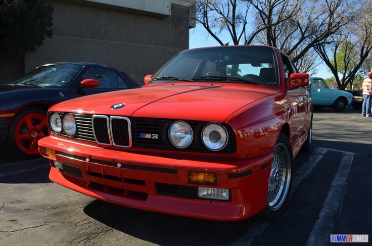 BMW Red E30 M3 | BMW E30 M3 Pictures | Pinterest