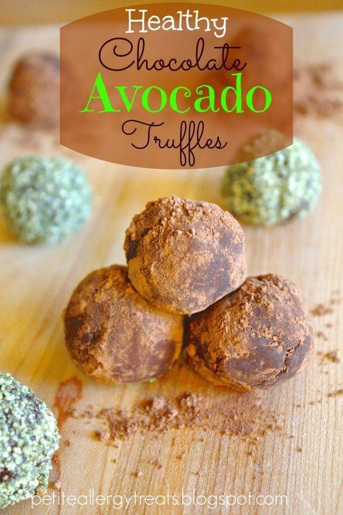 Chocolate Avocado Truffles.   Nom Nom Nom!   Pinterest