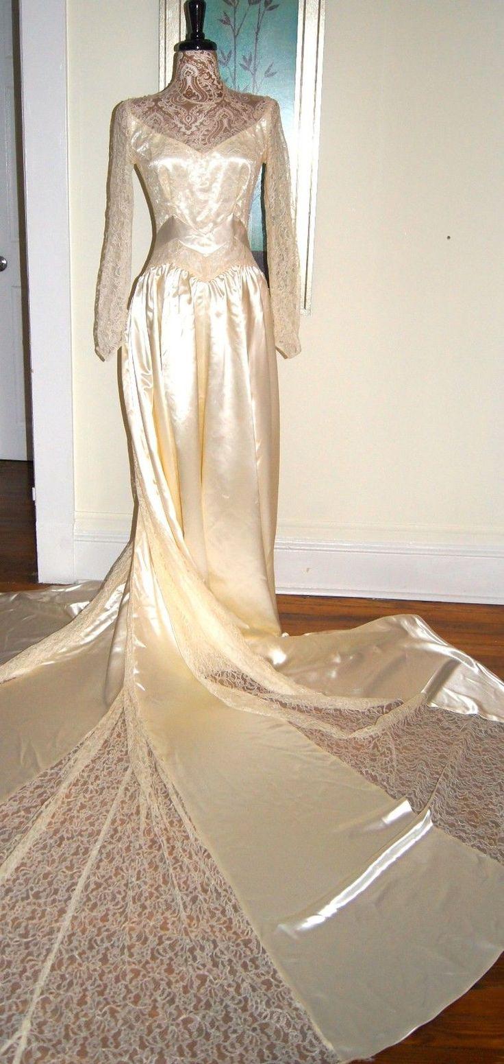 41++ Vintage champagne lace wedding dress ideas in 2021