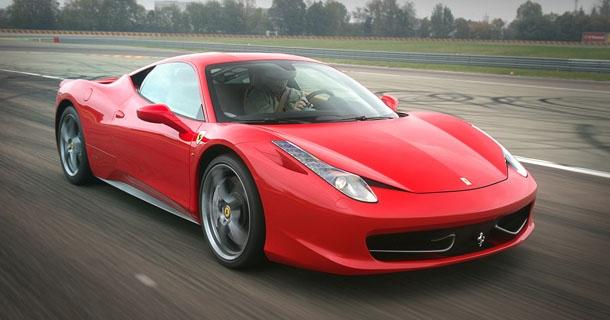 Ferrari 458 Italia Fault