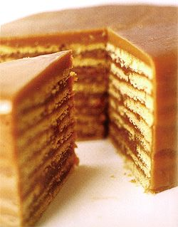 Recipe: Thankful Butterscotch Cake (using rum, 9 layers) - Recipelink ...
