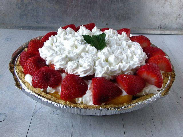 Strawberry & Peach Pie