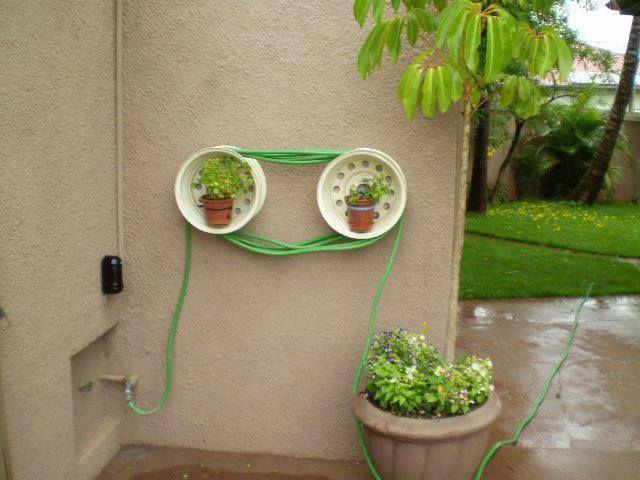 Decorative Hose Holder Ezeebuxs Diy Projects Pinterest