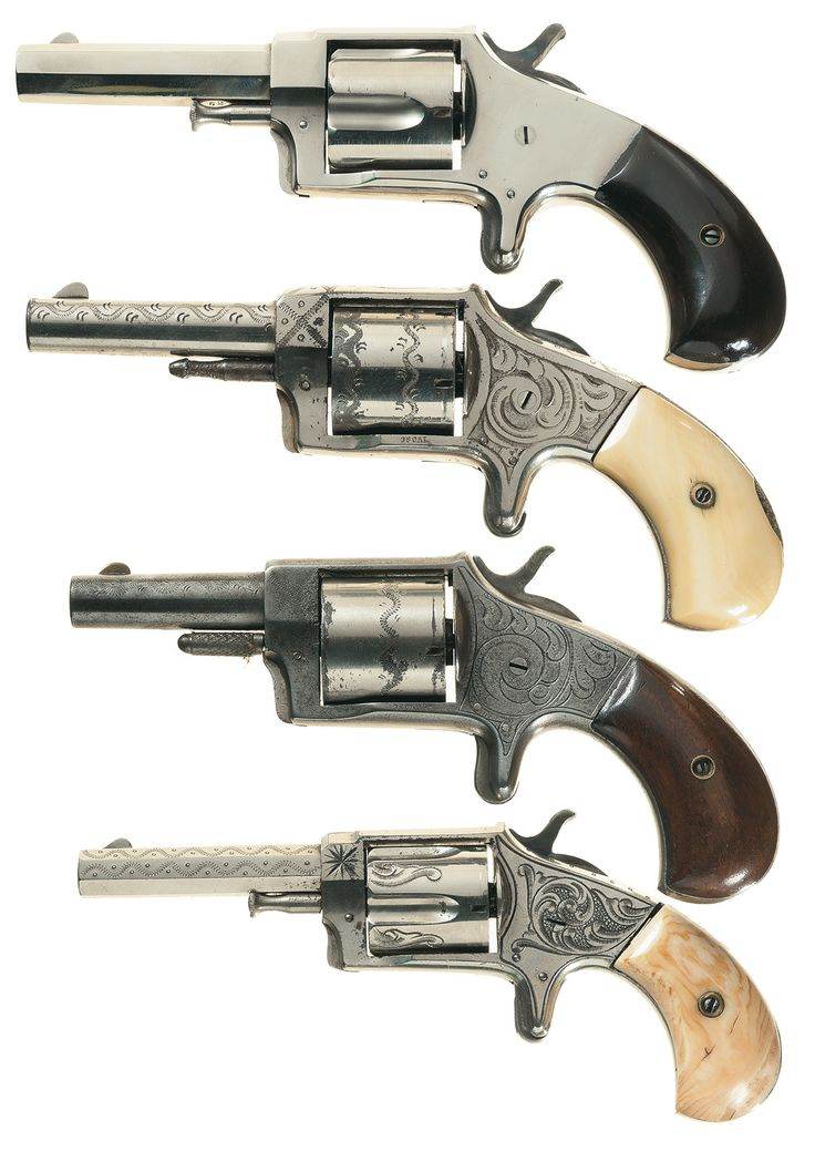 Old western pistols