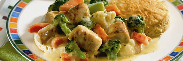 Step Inside-Out Chicken Pot Pie | Food: Chicken | Pinterest