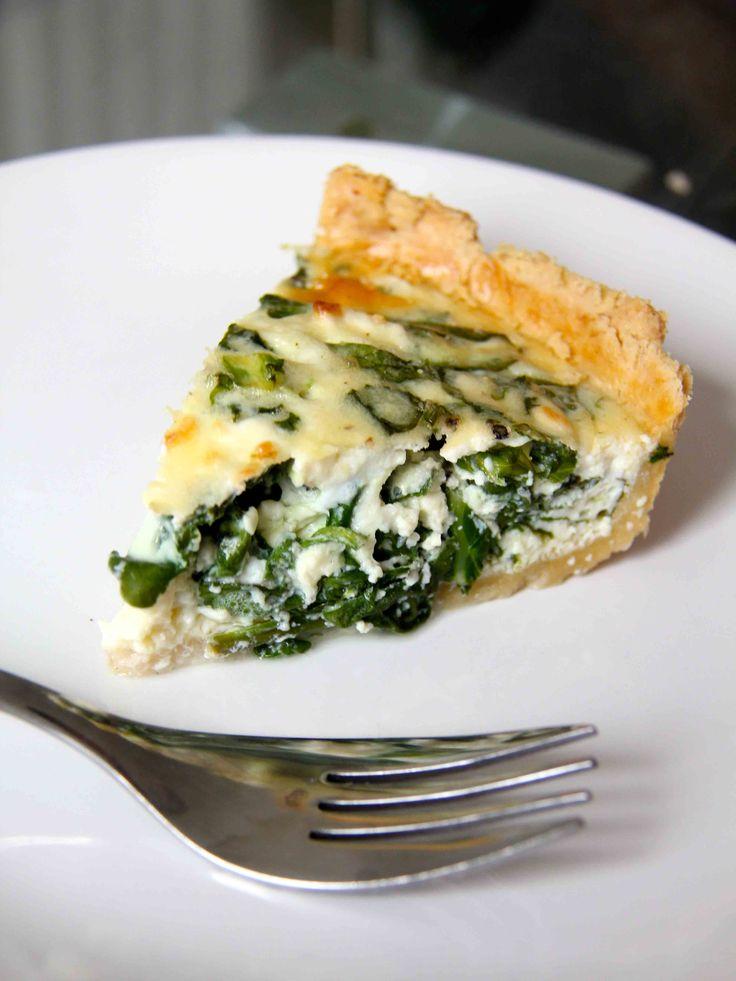 Spinach, Kale & Feta Quiche | Food! | Pinterest
