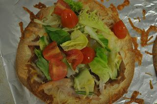 Living the military life...: Rotisserie Chicken Tostadas