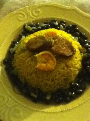 Shrimp Jambalaya with Black Beans... | My Attempts at, Looks Good, Mu ...
