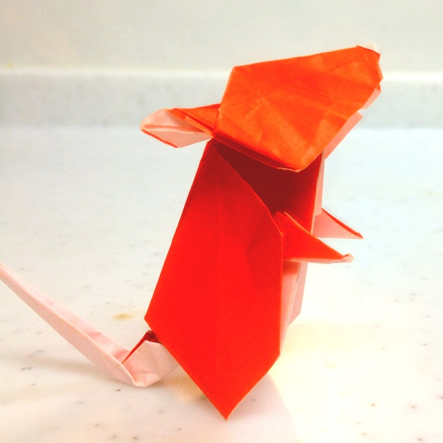 origami mouse origami crafts pinterest