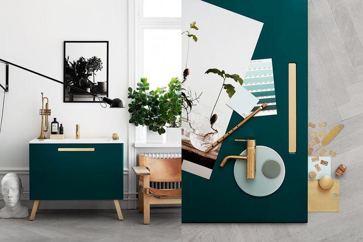 swoon, lotta agaton, kristofer johnsson, bathroom inspiration via http://www.scandinavianlovesong.com/