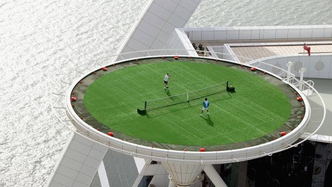Tennis Court In The Sky Dubai Architectura Pinterest