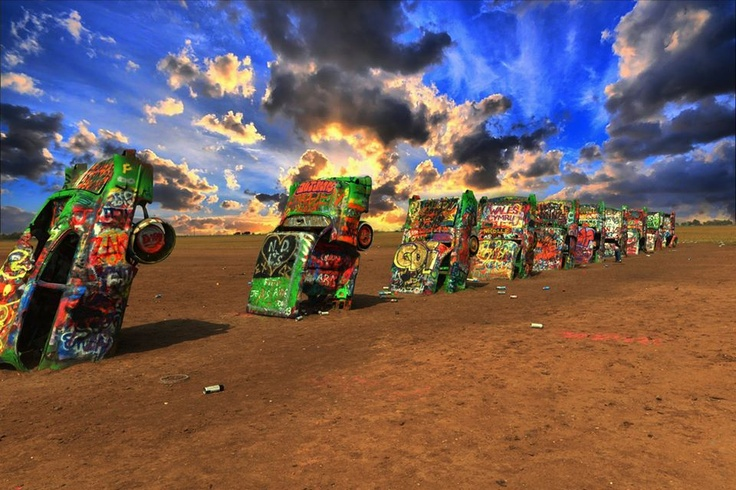 cadillac ranch amarillo texas maybe more of a road trip than a date. Cars Review. Best American Auto & Cars Review