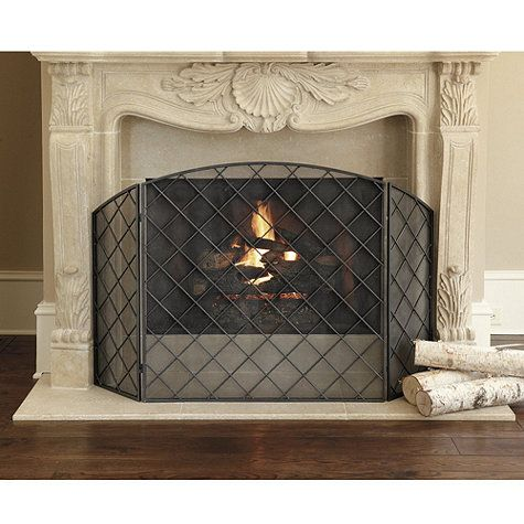 Darboux Fireplace Screen