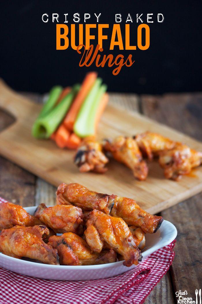 Crispy Baked Buffalo Wings | Food and Recipes | Pinterest