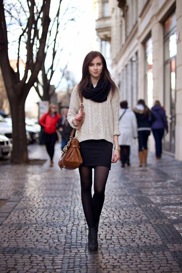 Street Style Prague Fall Winter Fashion Pinterest