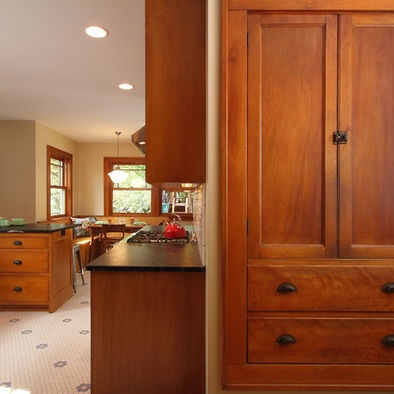 Dark Counter - Lt Floor & Walls - Spaces Kitchen Wall Colors With ...