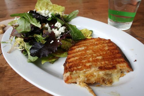 Candied Walnut Gorgonzola Salad and the Farmer's Grilled Cheese ...