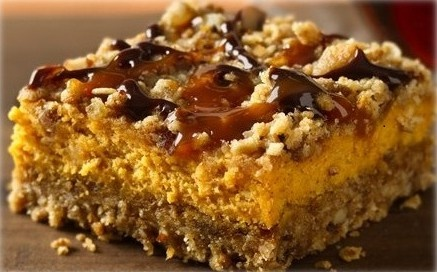 Sweet Potato Praline Cheesecake Bars | My pinterest cookbook | Pinter ...