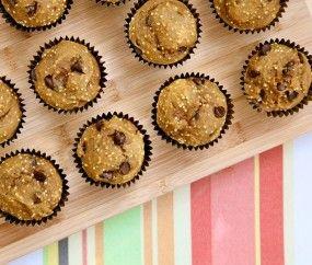 Pumpkin Millet Chocolate muffins | Foods to Make: Sweet | Pinterest